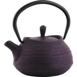 """Théière """"Tradi"""" en fonte violette"""