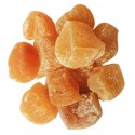Morceaux de gingembre confits