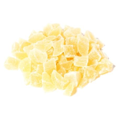 Morceaux d'ananas confits
