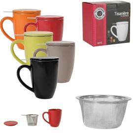Tisanière mug avec filtre intégré