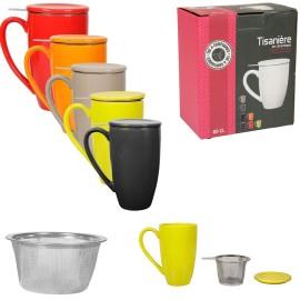 Tisanière mug XXL avec filtre intégré