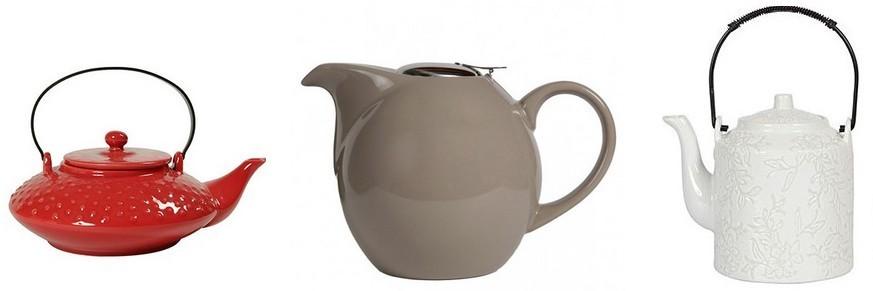 Théières céramique - porcelaine